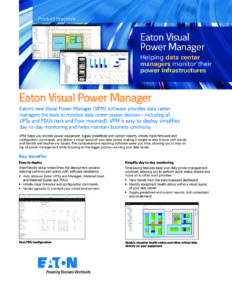 Eaton Visual Power Manager (VPM) - EC Power