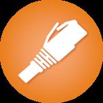 Copper cable icon